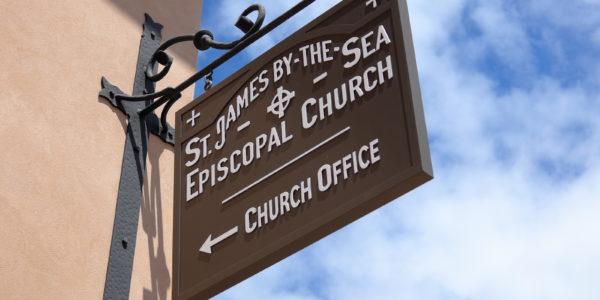 San Diego church sign exterior