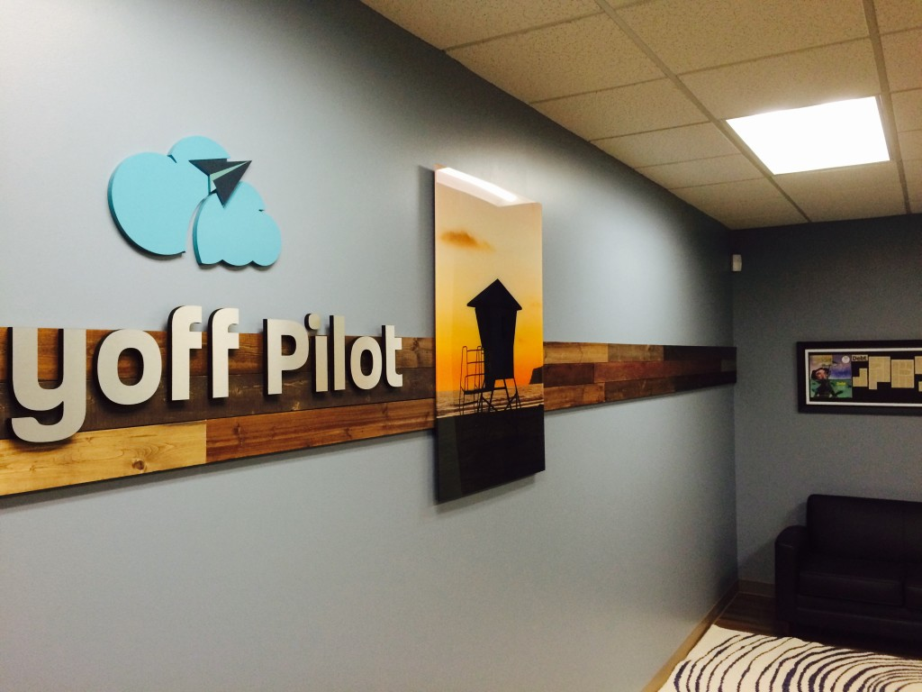 Picture of finished office redesign San diego