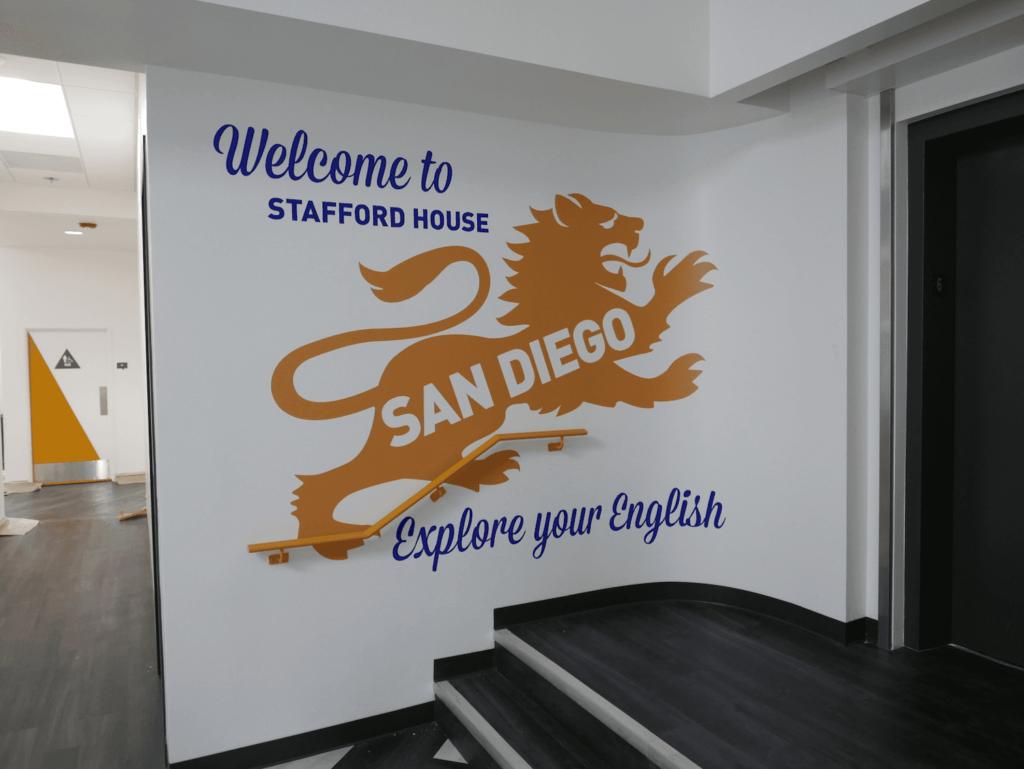 SCHOOL INTERIOR GRAPHICS San Diego