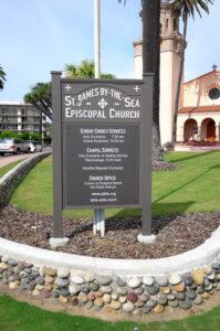 San Diego monument sign