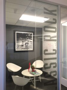San Diego office design window graphics