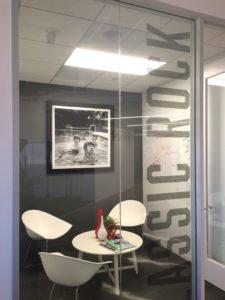 San Diego office design window graphics