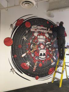 san diego office mural