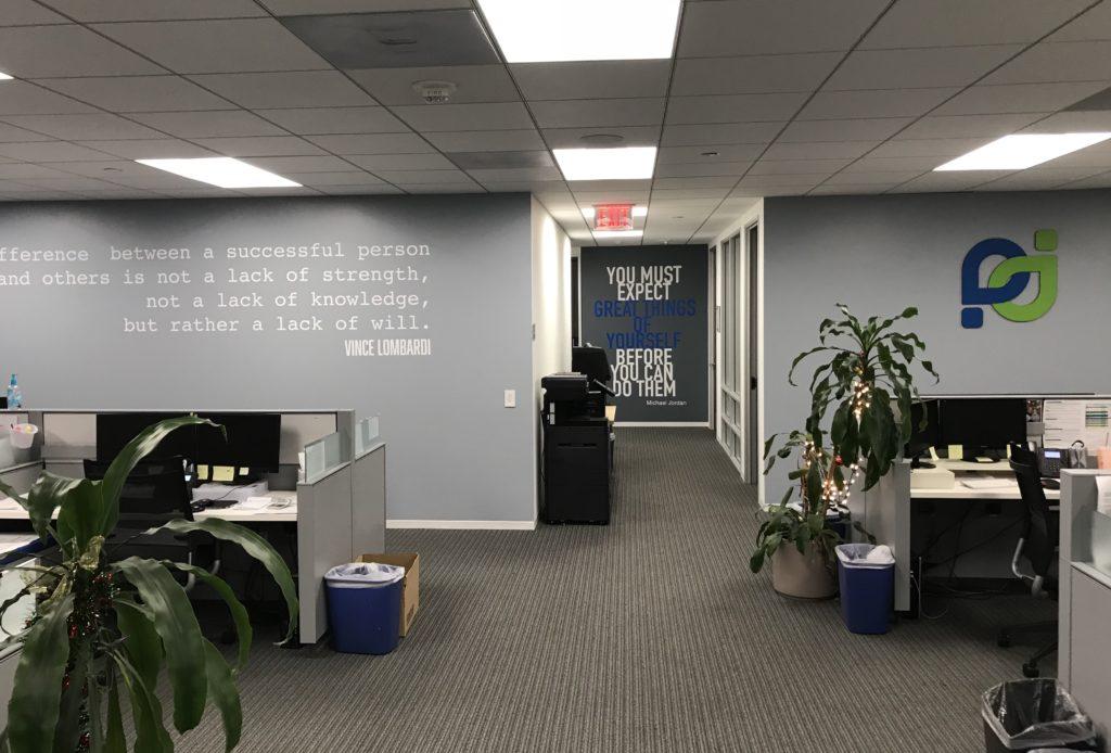 San Diego office design makeover