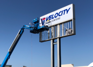 pole sign removal san diego